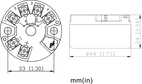 temperature transmitter pressure transmitter gas detector